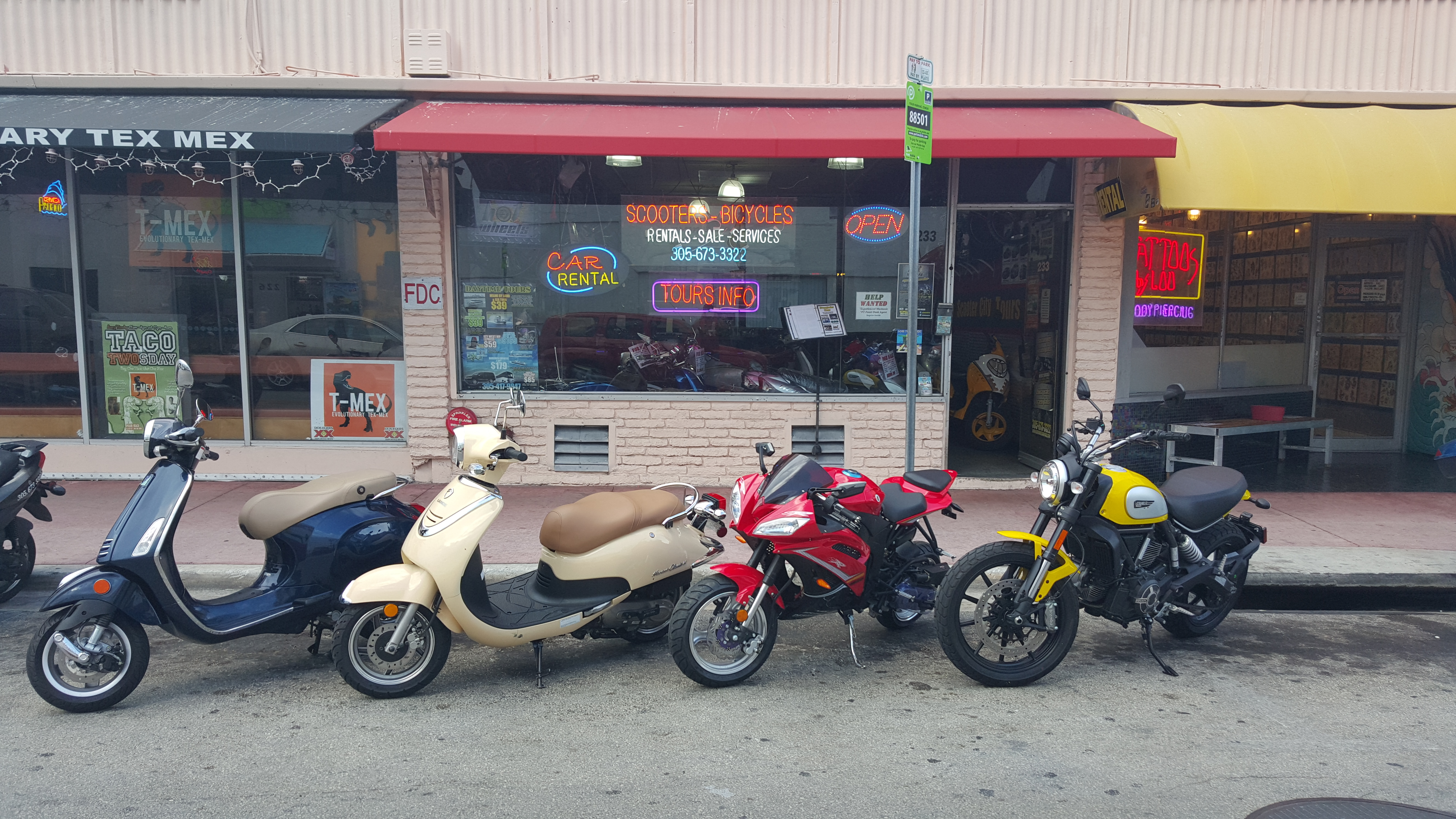 Scooters Hot Wheels Rentals