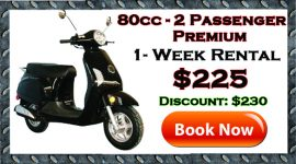 weekly scooter rentals