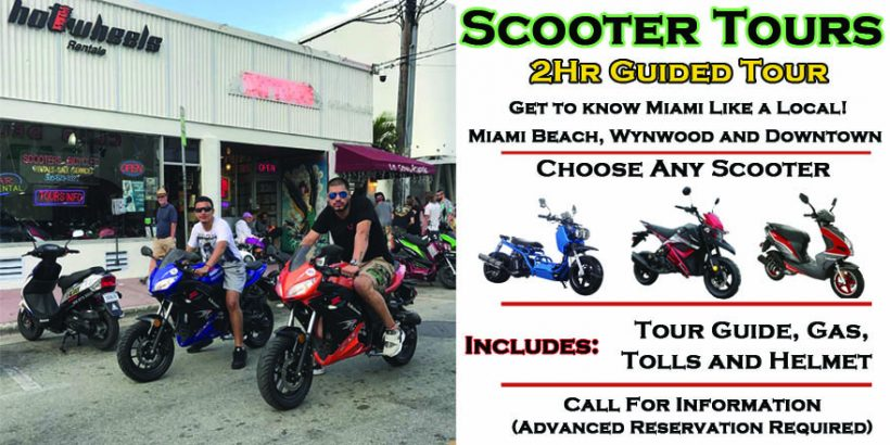 scooter tours of miami