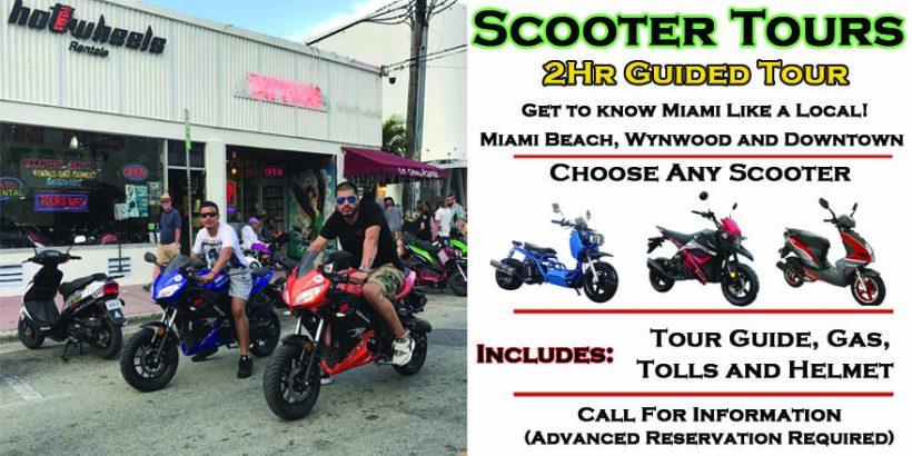 Scooter Tours Of Miami